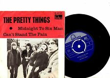 PRETTY THINGS 7' PS Midnight To Six Man Sweden TF 267 527 very rare Swedish 45