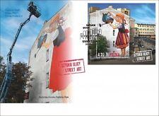 POLEN 2014  FDC Street Art(2014; Nr kat.:1678)