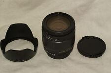 Tamron 179D 28-105 mm f/4-5.6 zoom lens for Nikon AF film or digital, 1D3FH hood