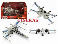 Disney Store Star Wars Resistance X-Wing Fighter Blue Die Cast Vehicle 2015 NEW