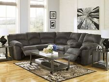 DOLE-MODERN MICROFIBER RECLINING SOFA COUCH SECTIONAL SET LIVING ROOM FURNITURE