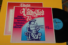 VOLKSLIED 76 LP LIVE TOP PROG KRAUT ROCK ORIGINAL GERMANY+INSERTO EX++ ! AUDIOFI