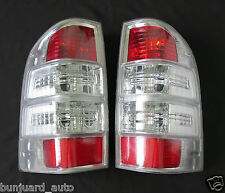 06-11 Fit Ford Ranger T5 Thunder XL XLT Lamp Rear Tail Back Red Light Lamp Pair