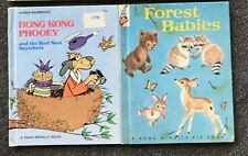 2 Elf Books Rand McNally Hong Kong Phooey and the Bird Nest Snatchers & Forest