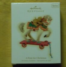 Hallmark A Pony for Christmas 2009 Ornament