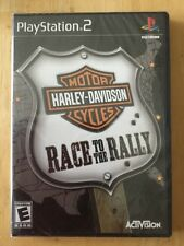 HARLEY DAVIDSON RACE TO RALLY  (Playstation 2 PS2) FACTORY SEALED NEW
