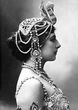 Mata Hari Dancer Courtesan Spy 1910 Netherlands 7x5 Inch Photo Reprint