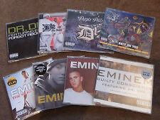 EMINEM - 8 CD SINGLES - REAL SLIM SHADY - WITHOUT ME - LOSE YOURSELF - MY BAND