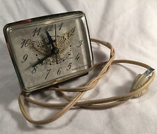 Vintage USA GE General Electric American Eagle Alarm Clock 7400 PRIORITY MAIL