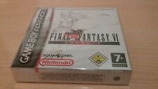 JUEGO FINAL FANTASY VI GAME BOY ADVANCE GBA PRECINTADO SEALED