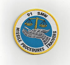 PATCH USAF 91ST SMW STRATEGIC MISSILE WING  REUNION