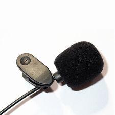 Premium Ansteckmikrofon für PC Lautsprecher Mini Mikrofon mit Klemme auf Krage