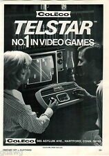 1977 ADVERT Coleco Telstar #1 No. 1 Video Games Control Console