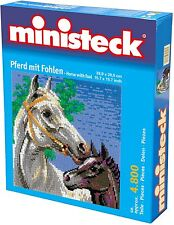 Ministeck Pixel Puzzle (31878): Horse with Foal 4800 pieces