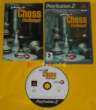 PLAY IT CHESS CHALLENGER Ps2 Versione Ufficiale Italiana »»»»» COMPLETO
