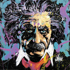 David Garibaldi Einstein E=MC2 Novelty Print Poster 24x24