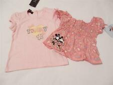Lot of 2 New Baby Girl's Shirts Size 12 Months - NWT (Disney, Tommy Hilfiger)