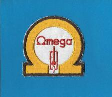Rare 1970's Pontiac Oldsmobile Omega Iron On Car Club Jacket Hat Patch Crest