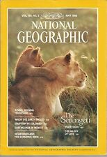 National Geographic May 1986 When the Earth Moves