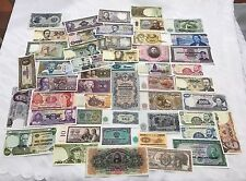 HUGE LOT OF (49) WORLD CURRENCY PAPER MONEY COLLECTION - ALL DIFFERENT! ALL UNC