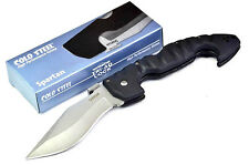 NEW Cold Steel Spartan Folding  Tactical Knife