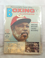 August 1971 Archie Moore    Boxing Illustrated Magazine Vintage