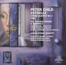 ██ PETER CHILD (*1953) ║ Estrella ║ String Quartet ║ Trio