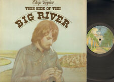 CHIP TAYLOR This Side of the Big River LP 1975 USA Pete Drake The Jordanaires