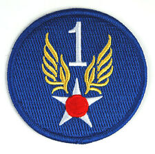 US ARMY 1ST AIR FORCE BADGE PATCH -32631