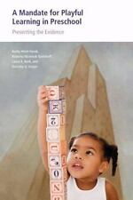 A Mandate for Playful Learning in Preschool: Applying the Scientific-ExLibrary