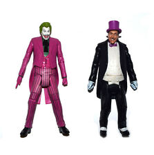 "DC Universe Batman 1966 Tv Series The Joker Penguin 6"" Loose Action Figure"