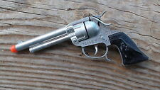 TEXAS Mustang Toy Cap Gun Leslie-Henry Wild West Toys Steer Head Grips USA MADE
