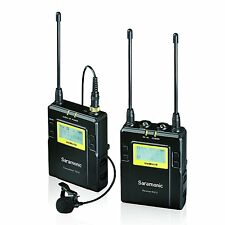 Saramonic RX10+TX10 96-Channel UHF Wireless Lavalier Microphone System UWMIC10