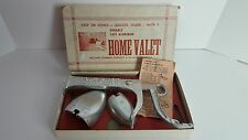 Vintage Home Valet Cast Aluminum Shoe Shiner Mount Made In The USA Pennsylvania