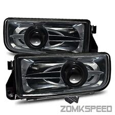 Fits 92-98 BMW E36 3 Series 318/323/330/M3 Smoked Projector Fog Driving Lights