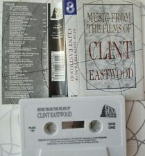 CLINT EASWOOD Music from films CASSETTE  soundtrack BSO