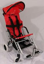 New Child's Special Needs Folding Stroller Wheelchair Lightning SE-16 Red