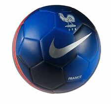 Nike France Pitch PR SE Euro 2016 Soccer Ball Navy Blue - Red Size 5