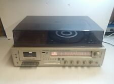 Realistic Clarinette 102 AM FM Stereo Receiver Cassette 8-Track & Turntable