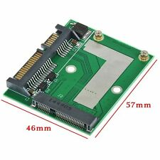 MINI PCI-E MSATA SSD TO 2.5'' SATA 6.0 GPS ADAPTER CARD CONVERTER MODULE BOARD