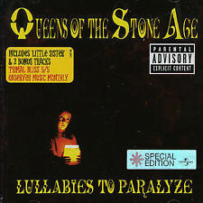 Lullabies to Paralyze [Bonus Tracks] [PA] by Queens of the Stone Age (CD,...