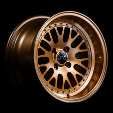 17x8 JNC JNC001 CCW Style 001 5x100/5x114.3 25 Transparent Bronze Wheel  set(4)
