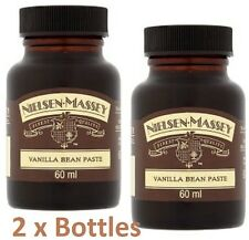 Pure Vanilla Bean Paste Nielsen - Massey 2x 60 ML Baking Chef Cook Cupcakes Chef