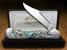 CASE XX Genuine Abalone Copperlock Stainless Pocket Knives Knife