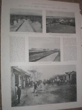 Photo article scenes at Taku and Peking China 1900