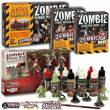 Army Painter Zombicide Paint Set Bundle | alle 4 Sets | Farbset, Zombies