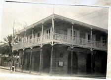ST THOMAS DANISH WEST INDIES BANK BUILDING 1932 REAL PHOTO