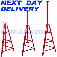 2 Ton , Tall High Axle Stands Jack Transmission Jacks x 2 Exhaust Supports