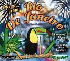 Escape from Rio de Janeiro  a Hidden Object Adventure  Win XP Vista 7 8 MAC  NEW