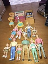 fisher price loving family lot of people and furniture